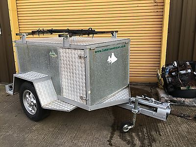 Land Rover Overland Expedition Off Road Camping 4x4 Trailer