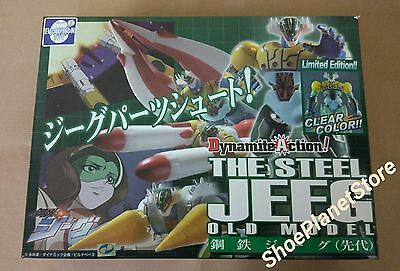 Evolution Toy Dynamite Action 01 Kotetsushin Jeeg Old Model Clear Color Limited
