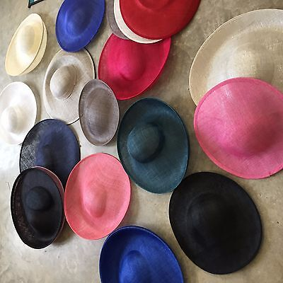 20 great quality large pre blocked hat bases worth over £500.