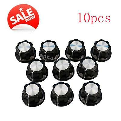New 10pcs potentiometer Bakelite knobs 16mm top Rotary Control Turning Knob vip