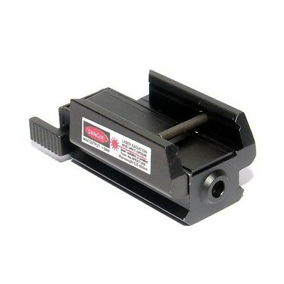 Compact Airsoft Pistol Weaver Rail Red Laser Sight To Fit 20mm Rail