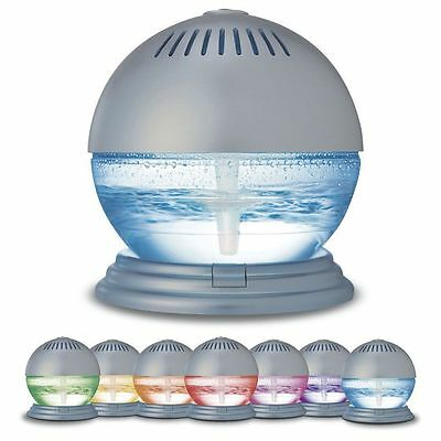 Air Purifier and Ioniser with Colour Changing LED Light and 3 Free Fragrances