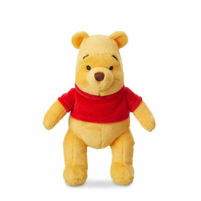 "Disney Authentic Winnie the Pooh Plush Stuffed Animal 8"" Boys Girls Toy Gift NEW"