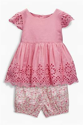 NEXT Outfit top set girls Pink Tunic set BNWT - Age 5-6 Years
