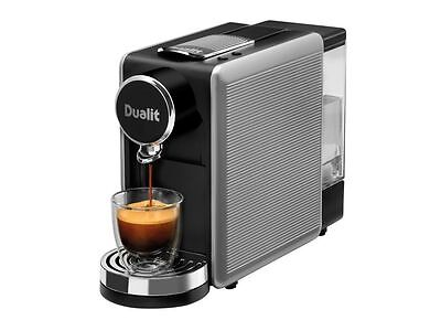 Dualit Lusso 85150 Capsule Tea & Coffee Machine in Silver DPD1