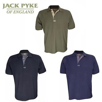 Jack Pyke Sporting Polo Shirt Clay Shooting T-Shirt Clay Pigeon