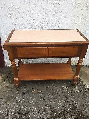 Wash Stand Sideboard With Tiled Top Idea Shabby Chic Project
