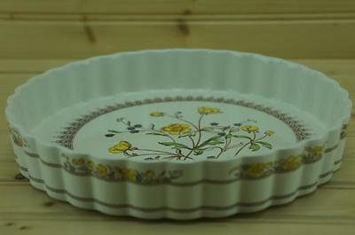 Spode BUTTERCUP Quiche Serving Bowl   Imperial Cookware - Stone China   England