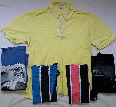Mens X5 Joblot Size XXL Polo T Shirts