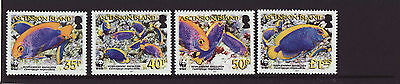 Ascension Island 2007 MNH - Fishes, Angelfishes - set of 4 stamps