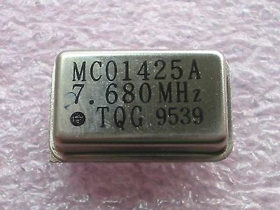 MC01425A 7.680 MHz Quarzoszillator