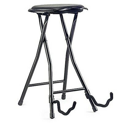 Stagg GIST-300 Guitar Stool and Stand - Black