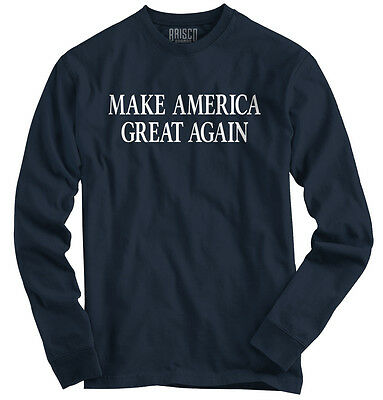 Make America Great President Donald Trump USA Republican Long Sleeve TShirt