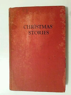 VINTAGE CHARLES DICKENS CHRISTMAS STORIES BOOK ILLUSTRATED-Hardcover