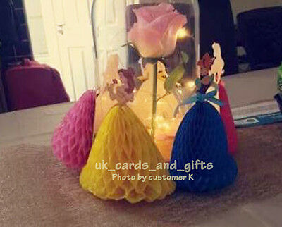 Disney Princess Cake Topper / 3D Pop Up Greeting Card / Multi-Purpose Card Girl