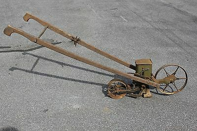 Antique Farm Garden PLANET JR No 25 SEEDER wheel hoe Cultivator Walk Behind Plow