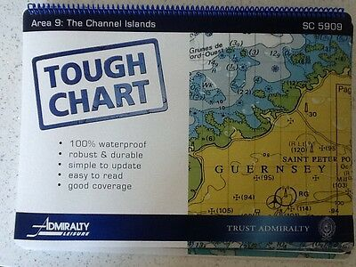 Tough chart 09 the Channel Islands sc5909 unused