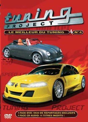 Tuning Project : Le Meilleur du Tuning - Vol.4 - DVD - NEUF