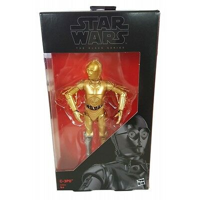 """star wars - rogue one - black series 6"""" - c3-po  exclusif"""