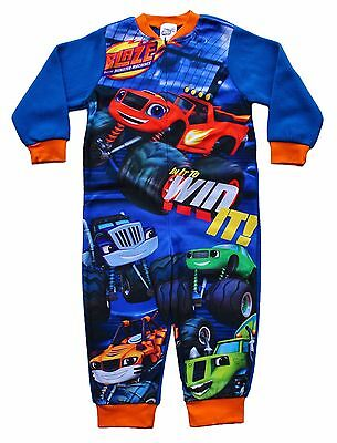 Blaze and The Monster Machines Onesie All in one Sleepsuit Pyjamas 2 to 6 Years