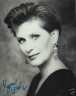 Susan Clark Canadian Actress  Hand Signed Photograph 10 x 8
