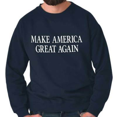 Make America Great President Donald Trump USA Republican Pullover Sweatshirt