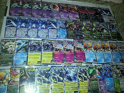 Pokémon TCG Random Collection of 100+ Cards Rare Holo Lot EX Lv X Full Art Mega