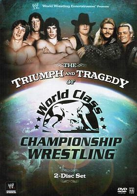 WWE: The Triumph And Tragedy Of World Class Championship Wrestling DVD NEW