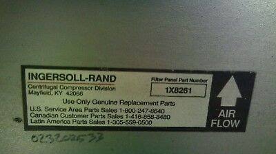 "Ingersoll Rand Air Filter Element Model 1X8261  23-1/4"" X 12"" X 23-1/4"""