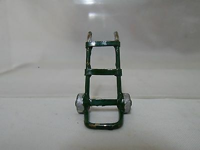Rare Unrecognized Vintage Railway Station Hand Cart / Porter's Trolley