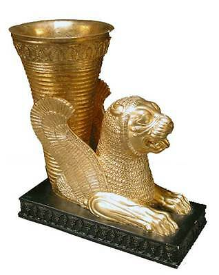 Persian Rhyton Lion Cup statue