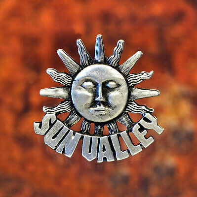 Sun Valley Idaho Metal Pin SunValley Jewelry Sun Valley Jewelry Handcrafted