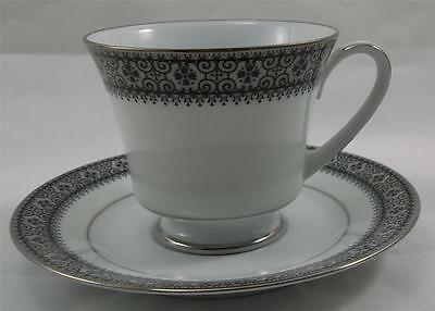 Noritake 2216 SEGOVIA 7 x coffee cup and saucer EXCELLENT