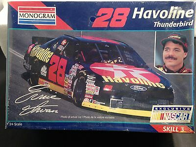 Monogram #2471 Ernie Irvan #28 Havoline Ford Thunderbird Model Kit (New)