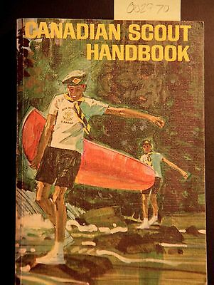 VINTAGE BOOK Canadian Scout Handbook. A Guide to Fun and Adventure.