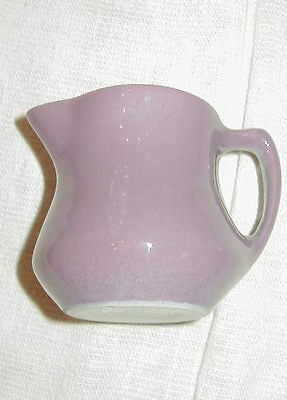 Vintage Shenango China Small Creamer, Cream Pitcher In Purple, Lavender