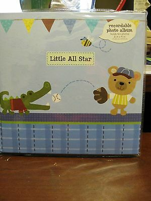 Recordable Photo Album - Little All Star Stepping Stones