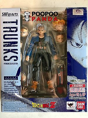 Bandai S.H. Figuarts Trunks Premium Color Edition Dragon Ball Z IN STOCK USA