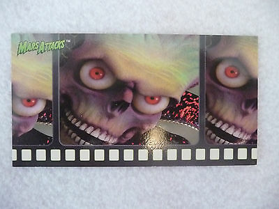1996 Topps Widevision Mars Attcks Promo Card