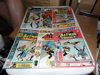 Batman Famiy lot of 6 books #1 #2 #5 #6 #7 and #8
