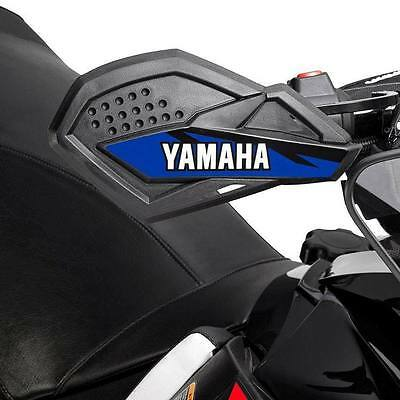 Yamaha Snowmobile SR Viper Handguards with Mounts (Red, Blue, or Black)