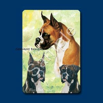 """BOXER - Ruth Maystead """"Best Friends"""" Dog Playing Cards Deck Box Sealed NEW"""