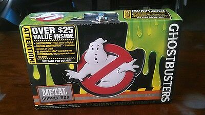 Ghostbusters: Tin Box Contains Movie, Cartoons and More 25$ Value