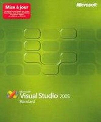 Microsoft Visual Studio 2005 Standard Edition Upgrade Win Brand New Sealed