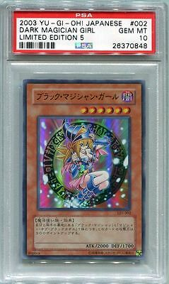 Yu-Gi-Oh JAPANESE 2003 Dark Magician Girl LE5-002 PSA 10 GEM MINT