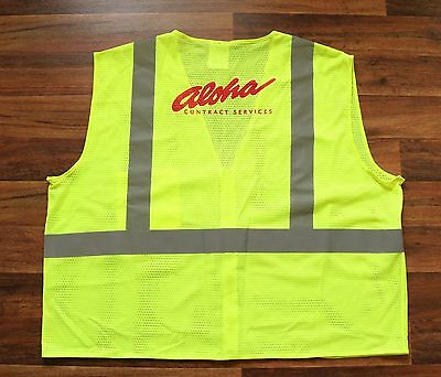 Hawaii Aloha Airlines Contract Services Safety Vest / Hawaiian