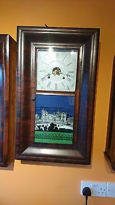 American ansonia 30 HR wall clock