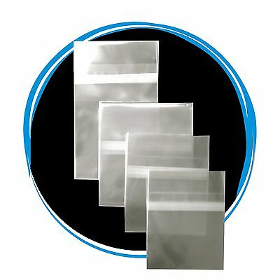 1500 Clear Resealable OPP Plastic Bags Wrap for 7mm Slim DVD Cases
