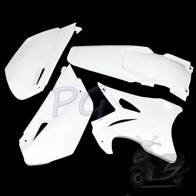 Brandnew Yz85 Yz 85 White Plastics Fenders Kit 2002-2014 Motoecycle