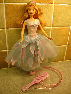 A Barbie Princess Swan Lake Doll with Accessories and Free Childs Hairband